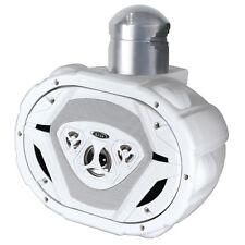 """Boss Audio MRWT69 6x9"""" 550W 4-Way Waketower Marine Boat Waterproof Speaker White"""
