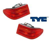 96-99 Benz E-class Taillamp Taillight Brake Light Lamp Left Right Side Set Pair
