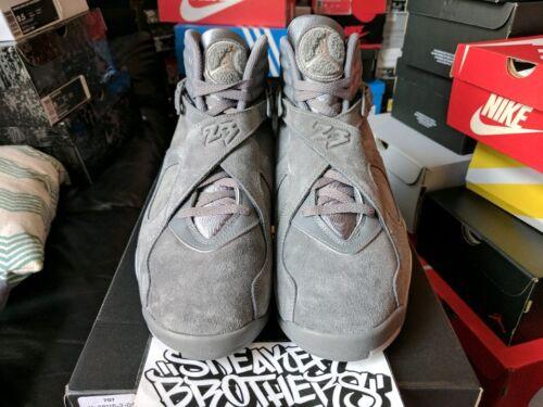 Air Grey Retro Grey 305381 Nike 014 2017 8 Wolf Suede Viii Cool Jordan Triple dqwSp