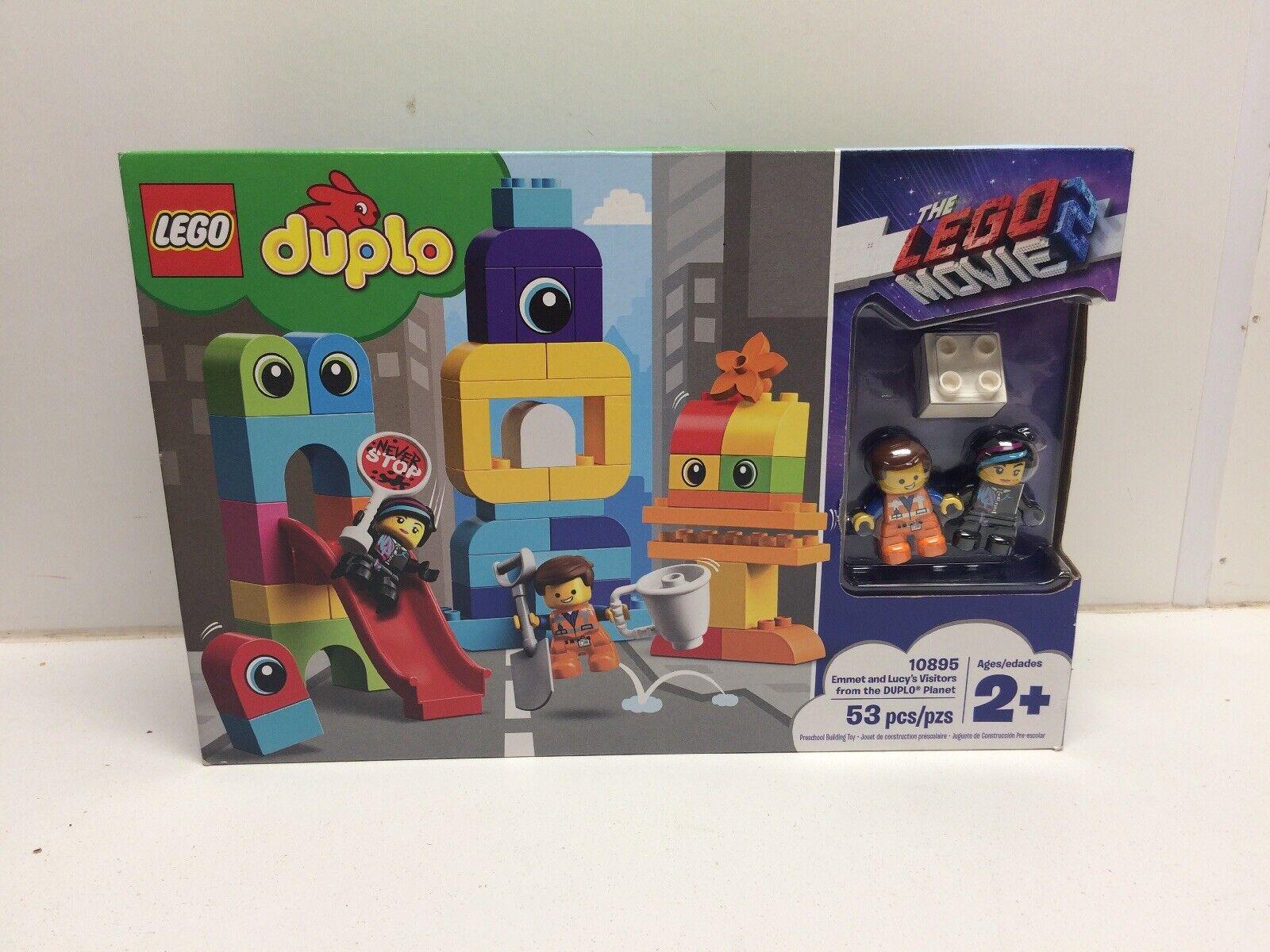 Nya LEGO duplo Lego Movie 2 Emmet och Lucy järnvägly 65533,65533 Besökare från The duplo plant