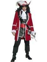Sale Adult Pirate Hook Captain Mens Book Week Fancy Dress Costume Party Outfit