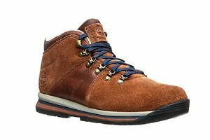 TIMBERLAND-A1QH9-GT-RALLY-MID-MEN-039-S-BROWN-WATERPROOF-HIKING-BOOTS