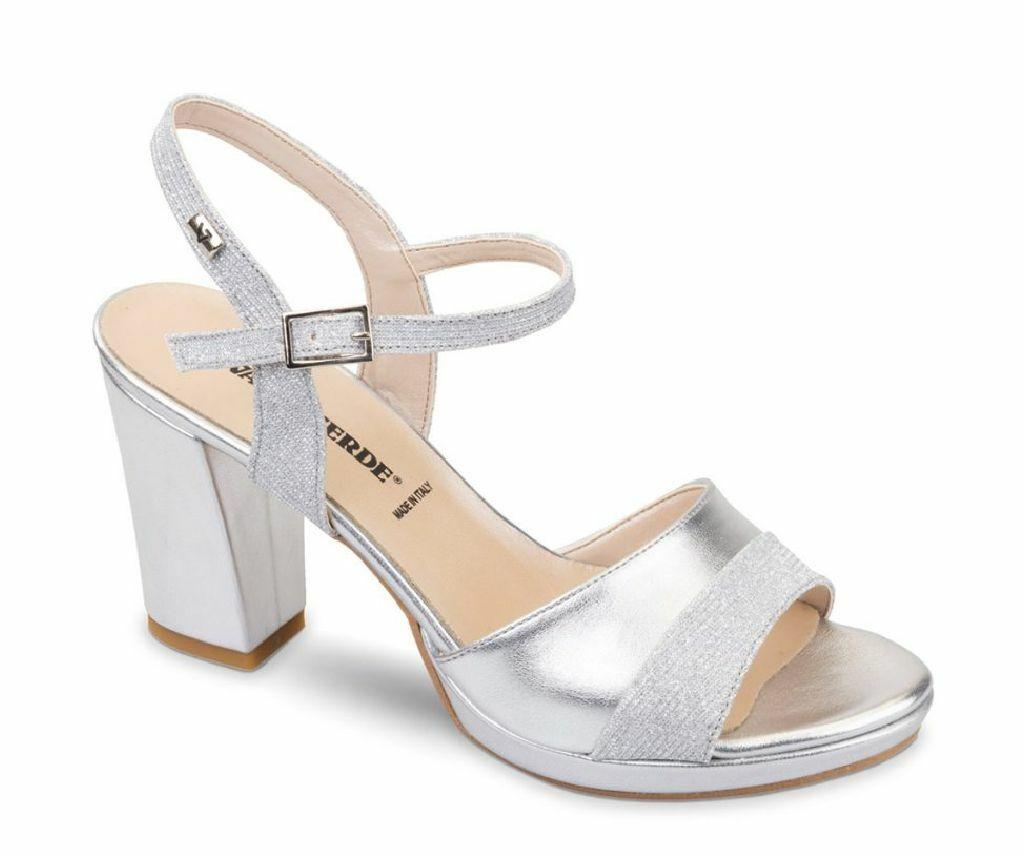 Vallegreen shoes ladies sandals 28301 Silver pe19