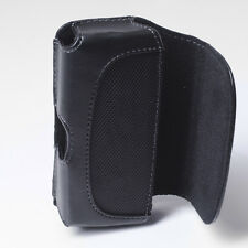 Leather Case Cover Pouch Holster Belt Clip for Tracfone Net 10 LG L16C Lucky