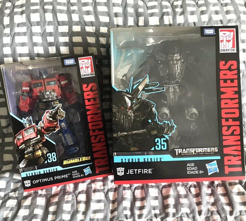 Transformers Studio Series Film Jetfire BB Optimus Prime leader classe SS G1 Conferenza mondiale sull'alimentazione