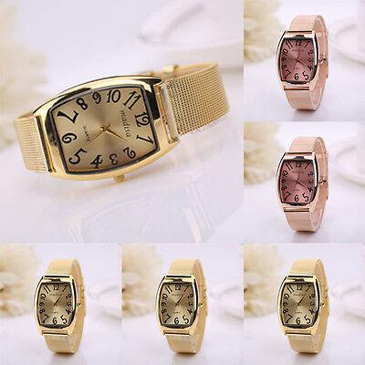 Women Classic Wrist Watch Lady Quartz Stainless Steel square Watch unique gift