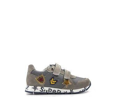 Entusiasta Scarpe Naturino Bambini Sneakers Trendy Beige Scamosciato,tessuto Markvl-velnyl