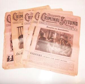 Lot-Illustrierte-Criminal-Zeitung-1931