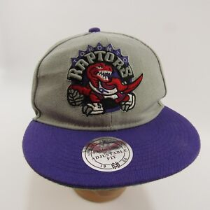 new styles a728d 12a40 Image is loading Toronto-Raptors-Hat-Mitchell-amp-Ness-Adjustable-Fit-