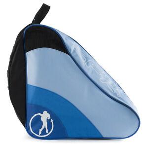 100% Vrai Sfr - Glace & Skate Sac Ii - Bleu Roller Skate Sac Transport