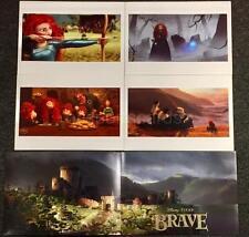 Disney Store Set of 4 BRAVE Limited Edition Art Lithographs w/ Litho Folder