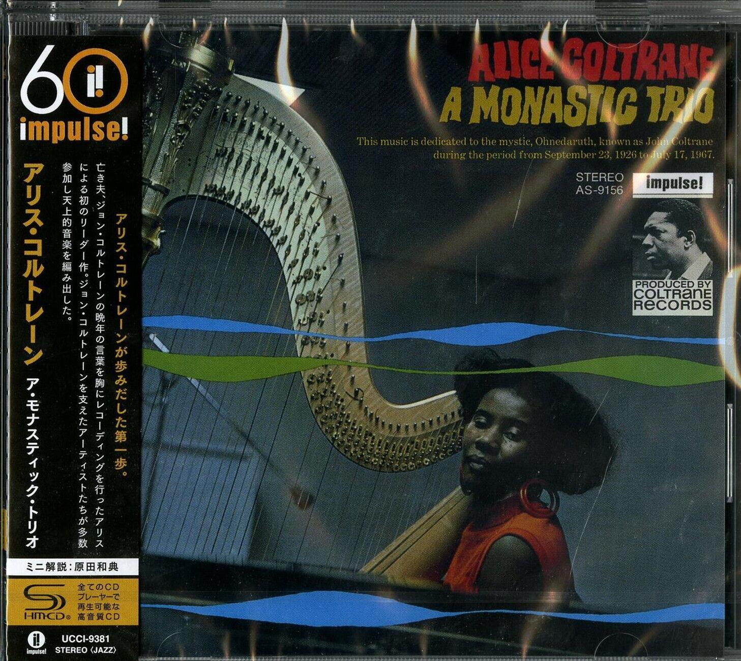 Image 1 - ALICE COLTRANE-A MONASTIC TRIO-JAPAN SHM-CD Ltd/Ed C94