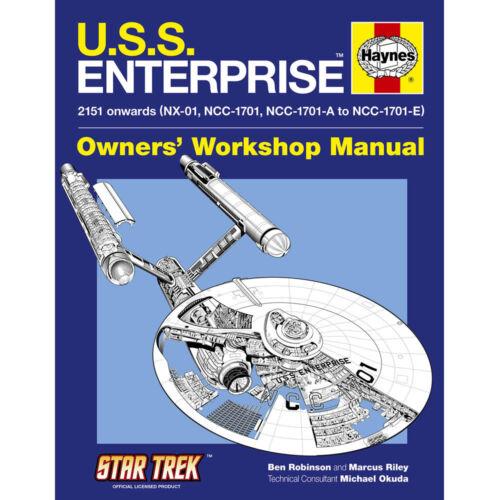 USS Enterprise Owners Workshop Manual by Haynes