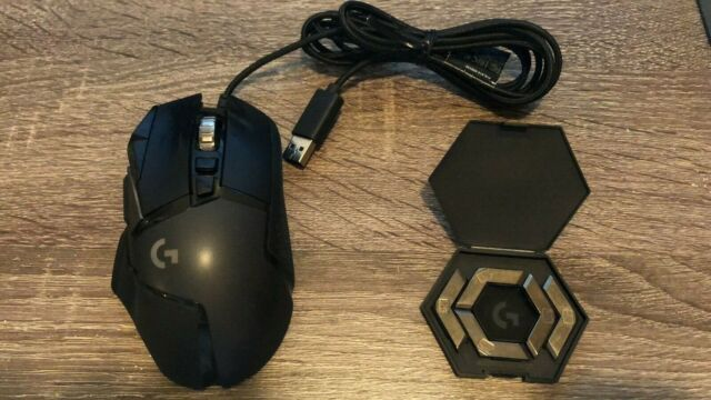 Logitech G502 HERO Wired Optical Gaming Mouse w RGB - 910-005469
