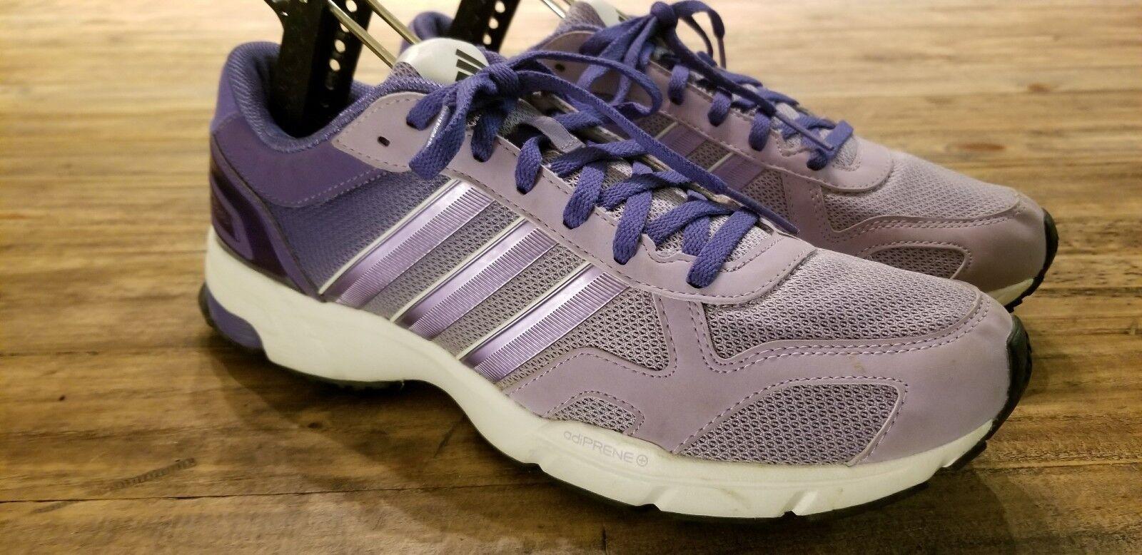 ADIDAS MARATHON 10.5 Womens TRAIL RUNNING SHOES Training Purple White Womens 10.5 Size 10 255afa