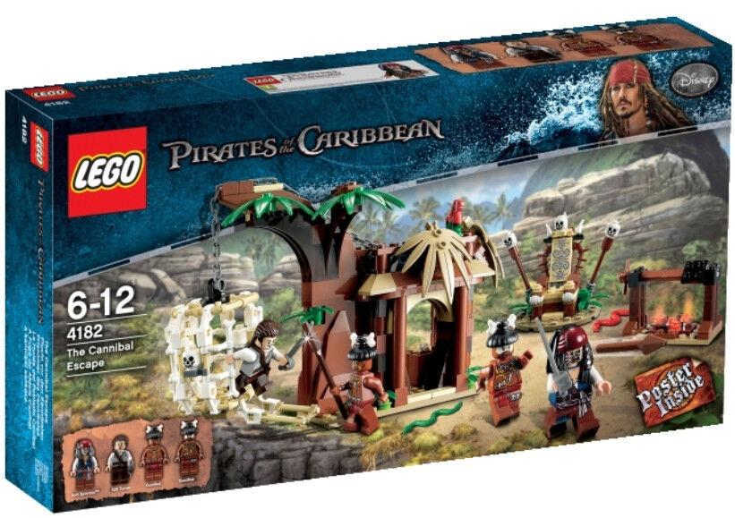 LEGO® Pirates of the Caribbean - Flucht vor den Kannibalen 4182 NEU & OVP