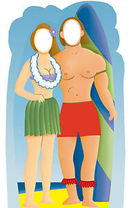 Surfer-Couple-Standing-Life-Size-Stand-In-Cardboard-Cutout-C558