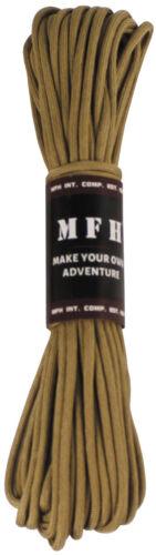 MFH Fallschirmleine Nylon 50//100 Fuß Seil Fallschirm-Leine Allzweckseil