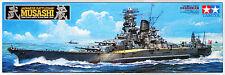 Tamiya 78031 Japanese Battleship MUSASHI 1/350 scale kit