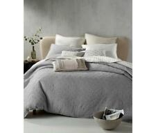 Hotel Collection Connection 100 Cotton Full Queen Duvet Cover Grey D1510