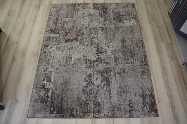 Patchwork Teppich Teppichboden Beige 200x320 Cm Ebay