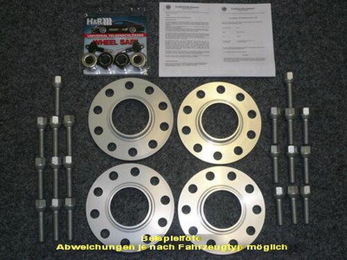 H/&R ABE SV 30//36mm Porsche 911 13057161 Spurverbreiterung Spurplatten