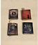 Los asistentes de cuero o bruja X4 libros de hechizo para una escala 1//12 Casa De Muñecas