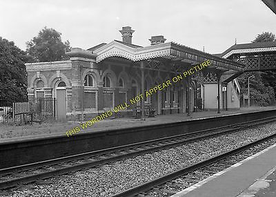 8 Maidenhead Burnham Beeches GWR. Taplow Railway Station Photo