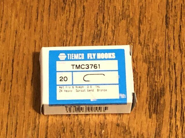 TMC 3761 Size 10 100 Tiemco Fly Tying Hooks