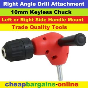 RIGHT-ANGLE-DRILL-ATTACHMENT-90-Deg-POWER-AIR-DRILL-3-8-in-CHUCK-TRADE-HAND-TOOL