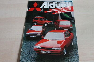 124807) Mitsubishi - Modellprogramm - Aktuell 1984