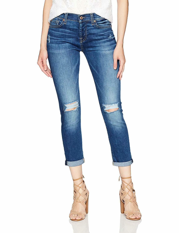 7 para Mankind mujer Josefina con  All agujeros de rodilla-elegir talla Color  comprar marca