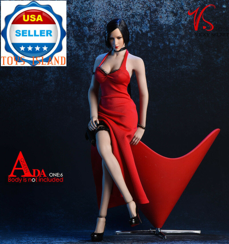 1 6 Ada Wong Resident Evil Dress shoes Accessories For 12  PHICEN Hot Toys ❶USA❶