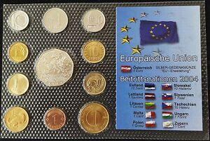 Mds Europäische Union Beitrittsnationen 2004 11 Münzen Mit 5