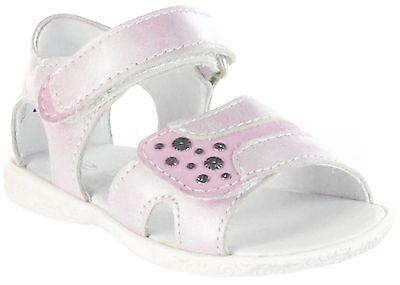Richter Kinderschuhe Lauflerner-Sandalen pink Metallic Mädchen 2203-731-3501