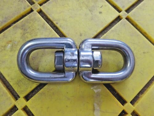 "SUNCOR 1//2/"" 316 Stainless Steel Boat Anchor Connector Swivel Eye Eye"