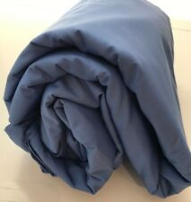 Royal Blue King Duvet Comforter Cover 300TC Company Store Cotton Sky Wedgewood