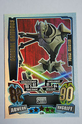 Force Attax Serie 4 Force Meister & Star-Karten aussuchen Topps Clone Wars