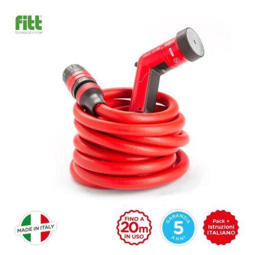 YoYo si intende tubo da giardino 20 metri compatto rosso scatto e torsione libero