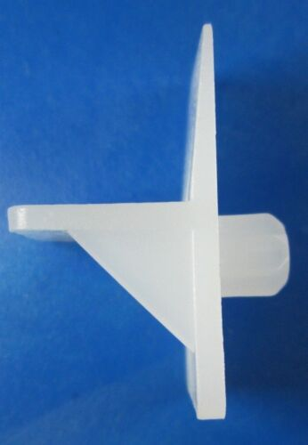"""Plastic Shelf 1//4/"""" Pin Support Brackets  Package of 6.35 mm 26"""