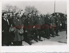 Foto, Craiova, Rumäni. u. dt. Generäle bei Parade, Herbst 1940; 5026-49