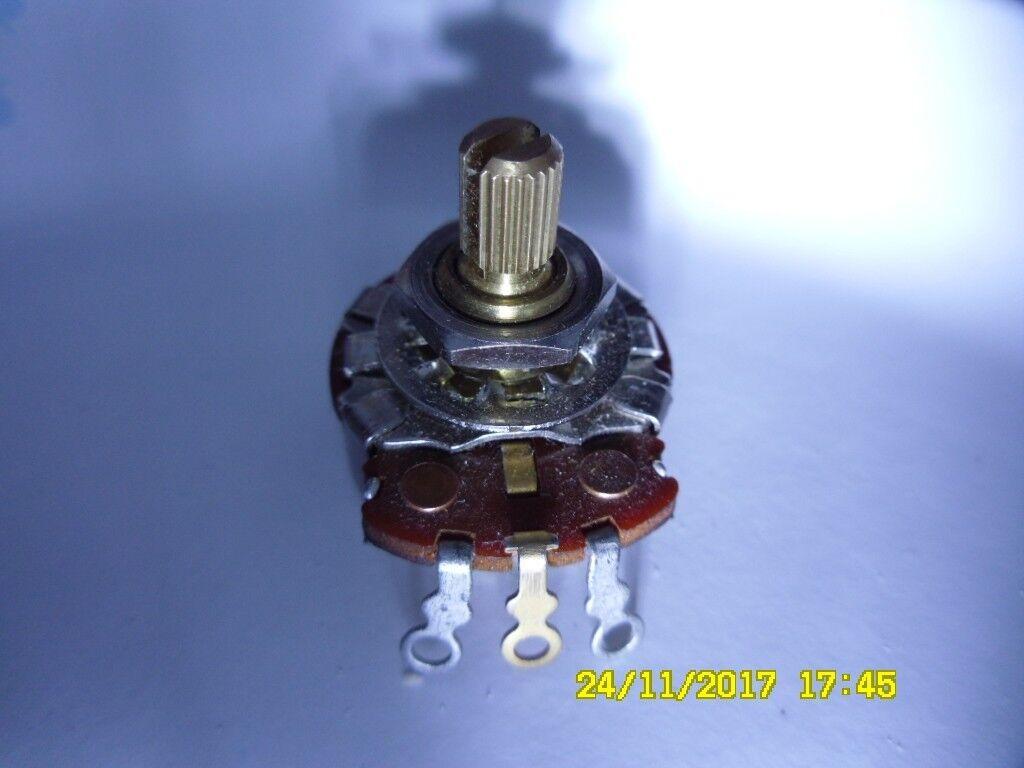 Vintage 1965 66 CTS 250k audio split shaft guitar pot part