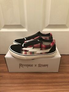 Revenge X Storm II Vol. 1 US Men s Size 7 In Black Plaid Ian Connor ... 6dacbd795
