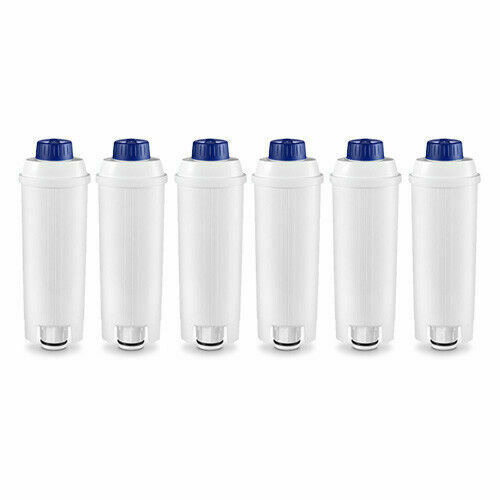 6 x Compatible Water Filters for DELONGHI DLSC002 SER3017 Espresso Coffee Maker