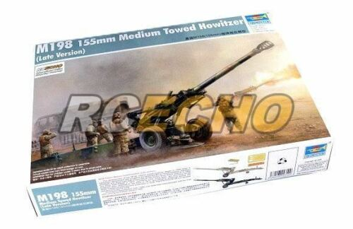 TRUMPETER Military Model 135 M198 155mm Medium Towed Howitzer Late 02319 P2319
