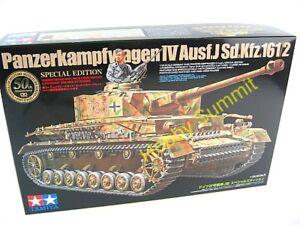 Sp-Ed-Tamiya-1-35-WWII-PANZER-IV-Ausf-J-WWII-GermanTank-Kit-w-PE-Extra-25183