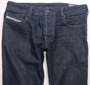 Da-Uomo-Diesel-Zatiny-Jeans-W30-L30-Blu-Bootcut-Wash-0088Z