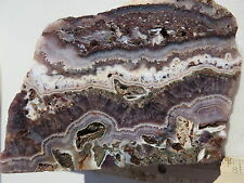 268  AMETHYST LACE ROUGH FROM MEXICO.  BEAUTIFUL MATERIAL MAKES STUNNING CABS
