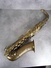 Rare Saxophone Alto type Sax Couturier Fournisseur breveté de l' Empereur 1870