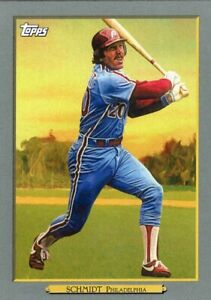 2020 TOPPS  BASEBALL CARD # TR-65 - HOF MIKE SCHMIDT - PHILADELPHIA PHILLIES